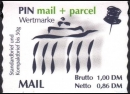 PIN AG: MiNr. 2, 28.08.2000, Brandenburger Tor, Berlin,...